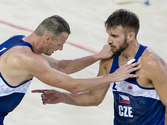 Přemysl Kubala a Jan Hadrava na Evropských hrách