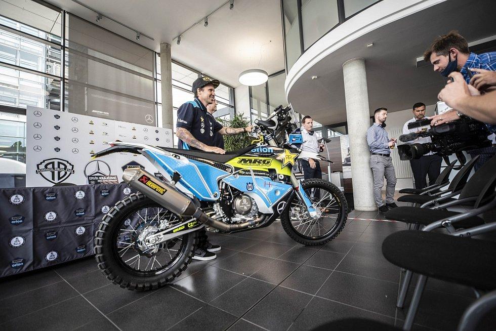 Libor Podmol se chystá na Rallye Dakar