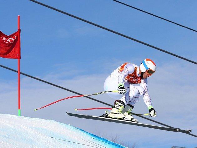Stane se americký lyžař Bode Miller nejstarším olympijským vítězem ve sjezdu?