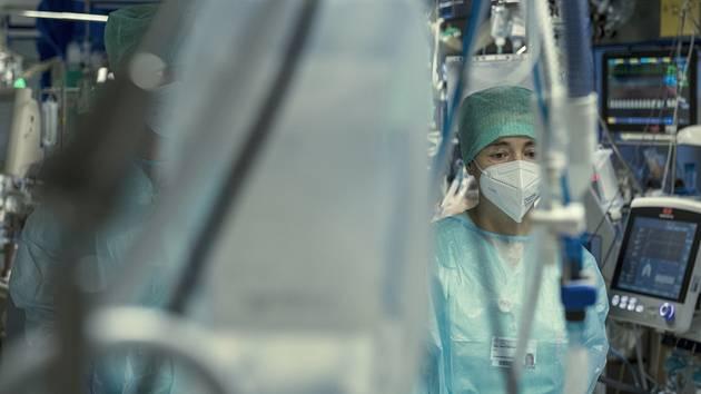Covidové oddělení nemocnice