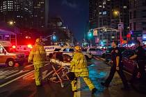 Čtvrtí Chelsea na Manhattanu v New Yorku otřásla mohutná exploze.