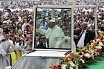 Papež František v Kolumbii
