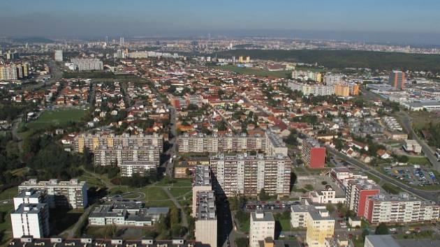Praha - Písnice, ul. Libušská.