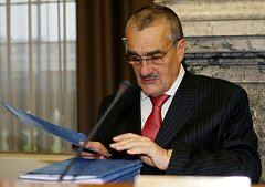 Ministr zahraničních věcí Karel Schwarzenberg