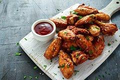 pikantní kuřecí křídla