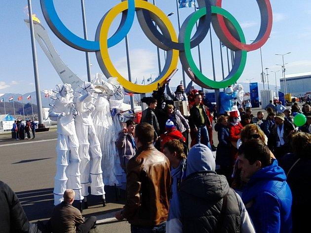 V Olympijském parku v Soči si najde zábavu každý.