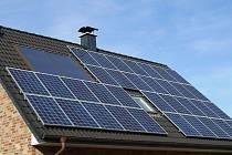 Fotovoltaická elektrárna. Ilustrační foto