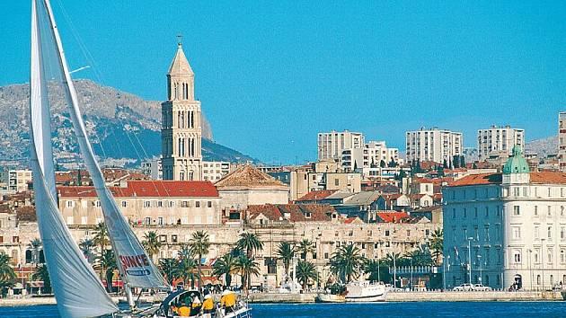 Město Split.
