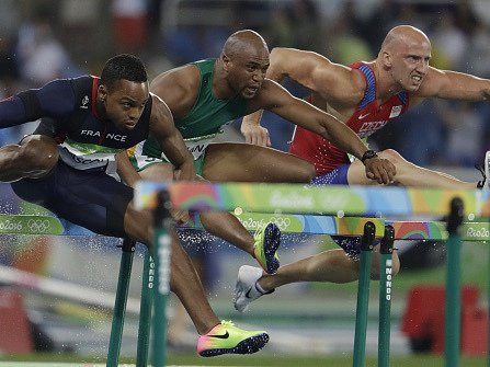 Po osmi letech se překážkář Petr Svoboda dostal znovu na olympijské hry a svůj návrat nezvládl.