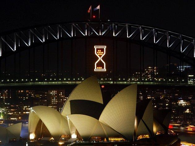 Očekávání Nového roku v Sydney