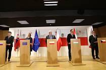 Země visegrádské skupiny (V4) podpořily rychlý vstup států západního Balkánu do Evropské unie.