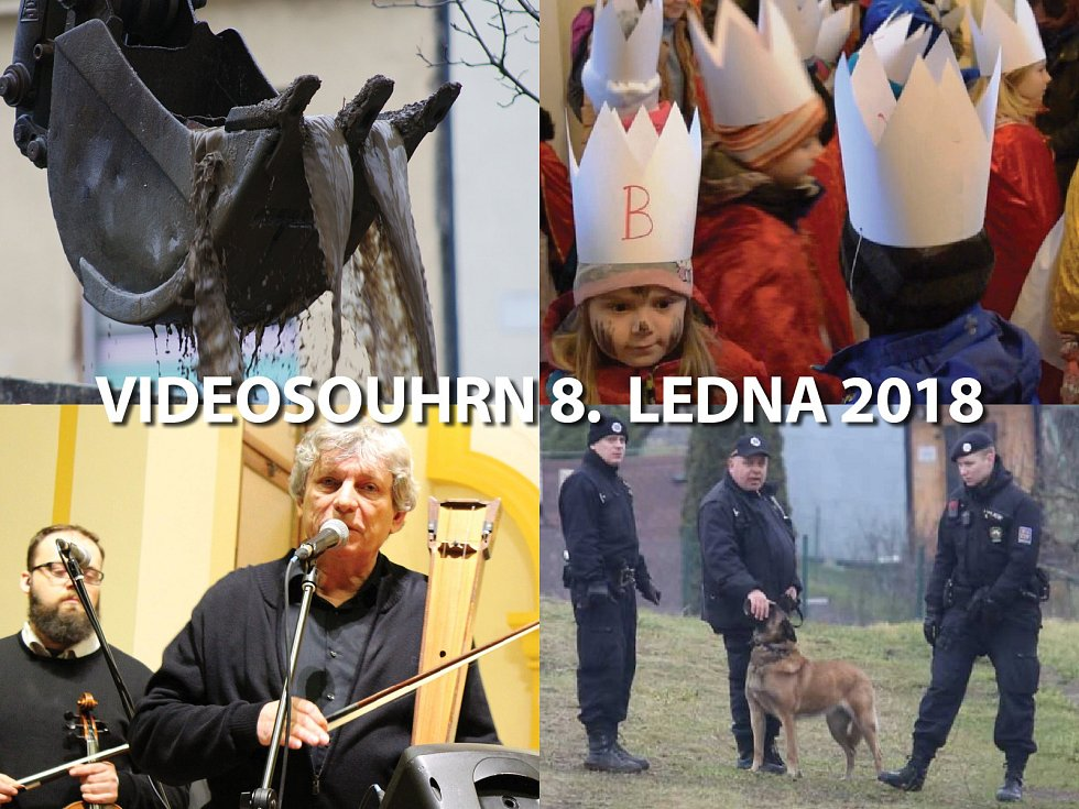 Videosouhrn Deníku – pondělí 8. ledna 2018