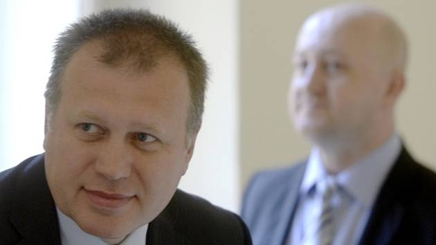 Vladimír Šiška (vpředu) a Milan Hojer