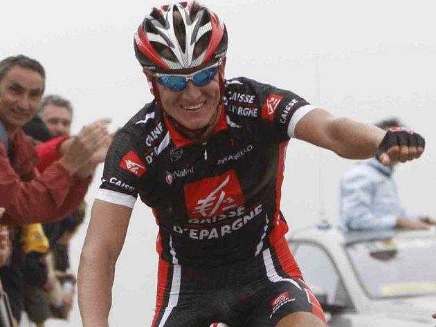 Ruský cyklista Vladimír Jefimkin vyhrál 4. etapu závodu Okolo Španělska a dostal se do čela průběžného pořadí.