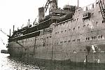 Britská loď Arandora Star sloužila za druhé světové války jako transportní plavidlo