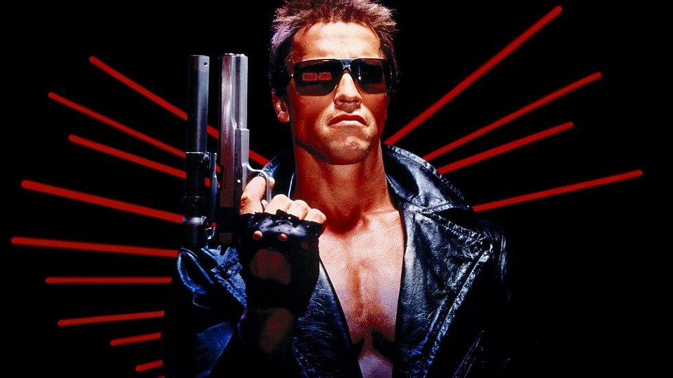 Arnold ve své nejslavnější roli – jako Terminátor