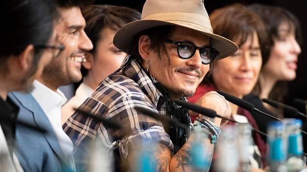 Johnny Depp na festivalu Berlinale