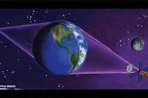 Zeměkoule by se mohla stát čočkou teleskopu nového typu