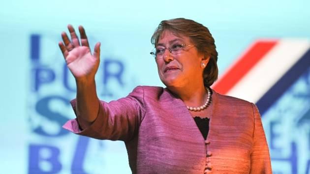 Prezidentské volby v Chile - Michelle Bacheletová.