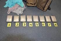 Zásilka kokainu. Ilustrační foto
