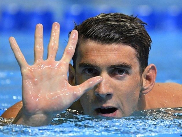 Pět! Michael Phelps se kvalifikoval na svou pátou olympiádu.