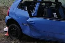Dopravní nehoda. Ilustrační foto