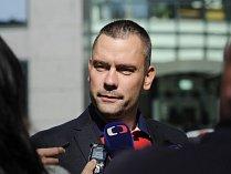 V kauze Oleo Chemical byl 28. září propuštěn i Rittigův právník David Michal (na snímku). ČTK Michal potvrdil, že na jeho bratra Petra byl podán návrh na vazbu.