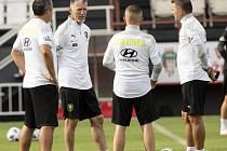 Příprava české fotbalové reprezentace na úvodní utkání do Ligy národů