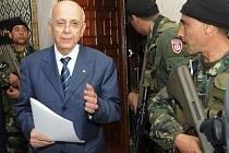 Tuniský premiér Muhammad Ghannúší v pondělí oznámil složení přechodné vlády, do které byli jmenováni také zástupci opozice. Na klíčových postech ale zůstali členové vlády uprchlého prezidenta Zína Abidína bina Alího.