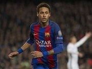 Neymar z Barcelony.