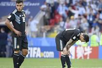 Argentinec Lionel Messi zahodil penaltu proti Islandu.