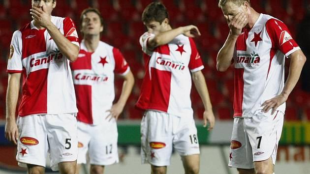 Fotbalová Slavia se na podzim herně trápí.
