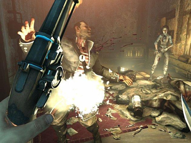 Počítačová hra Dishonored.