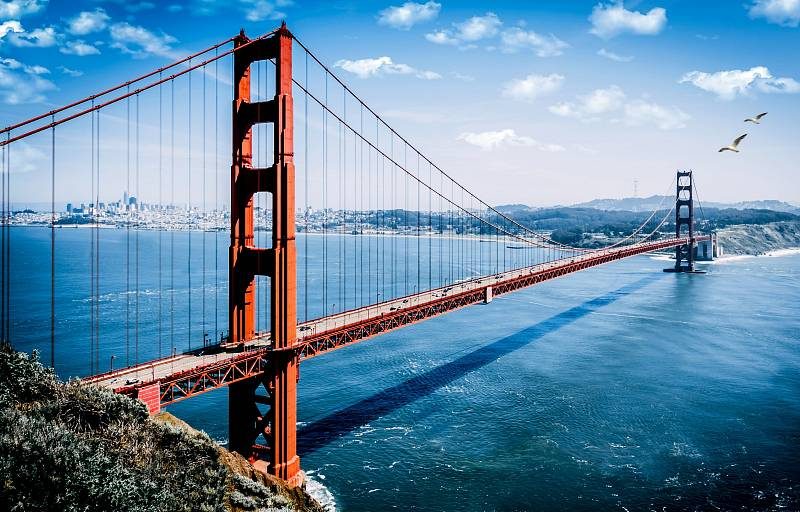 Most Golden Gate u San Francisca