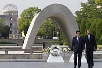 Dnešní návštěva Baracka Obamy v Hirošimě.