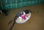Záplavy v Jakartě