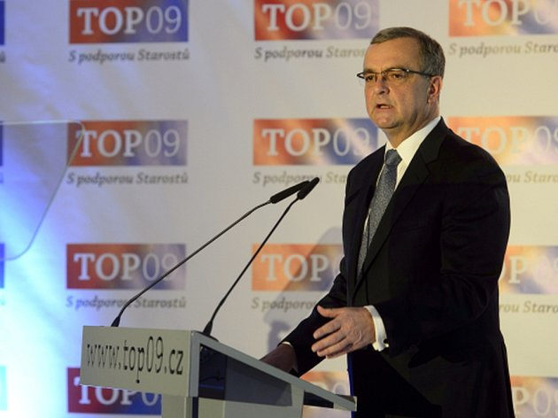 Miroslav Kalousek, předseda TOP 09.