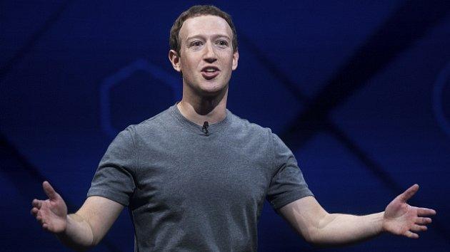 Majitel a jeden ze zakladatelů Facebooku Mark Zuckerberg