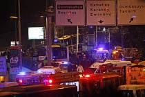 U fotbalového stadionu v Istanbulu explodovala nálož.