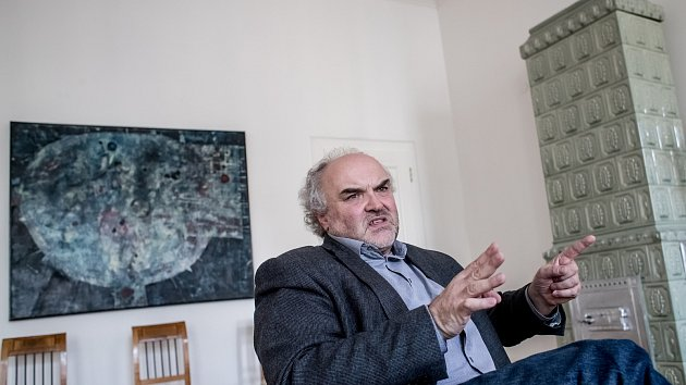 Generální ředitel Národní galerie Jiří Fajt