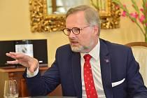 Šéf ODS a lídr koalice Spolu Petr Fiala
