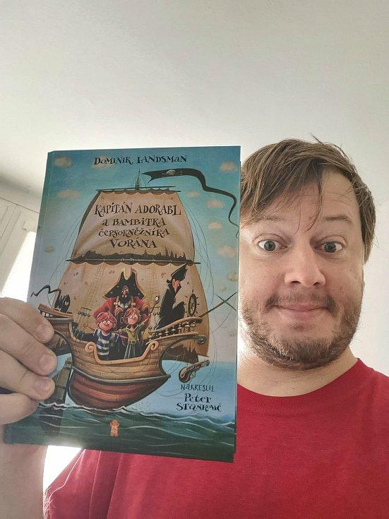 Kniha Kapitán Adorabl a bambitka černokněžníka Vorána se stala Dětskou knihou roku 2020.