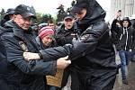 Protesty napříč Ruskem v den Putinových 65. narozenin