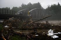 Povodňový stav na Slovensku.
