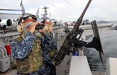 Společné vojenské cvičení USA a Jižní Koreje