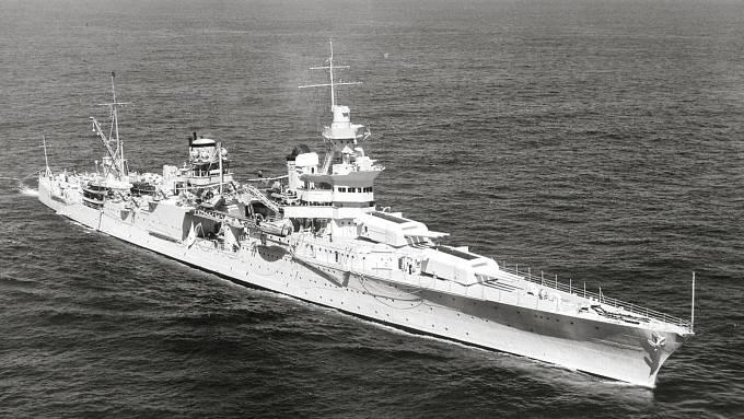 Křižník USS Indianapolis na počátku druhé světové války