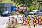 Kontrola na hranicích v Dolním Dvořišti
