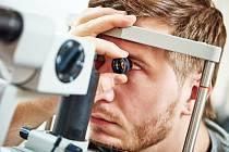 Vyšetření očí - Ilustrační foto