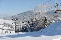 V lyžařském středisku v Branné na Šumpersku zahájili 1. prosince jako první v Jeseníkách zimní sezonu.