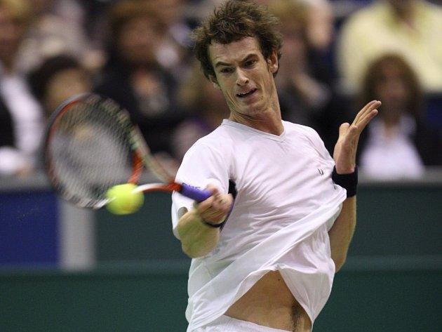 Světová čtyřka Brit Andy Murray.